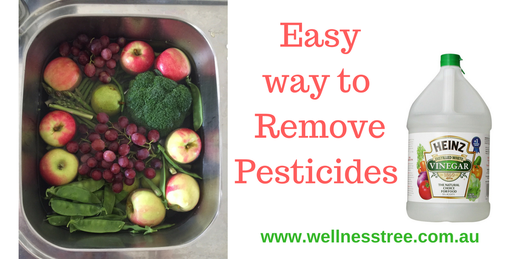 Easy Pesticide Removal For Fruit and Vegetables