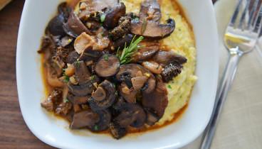 Mushroom-Ragout